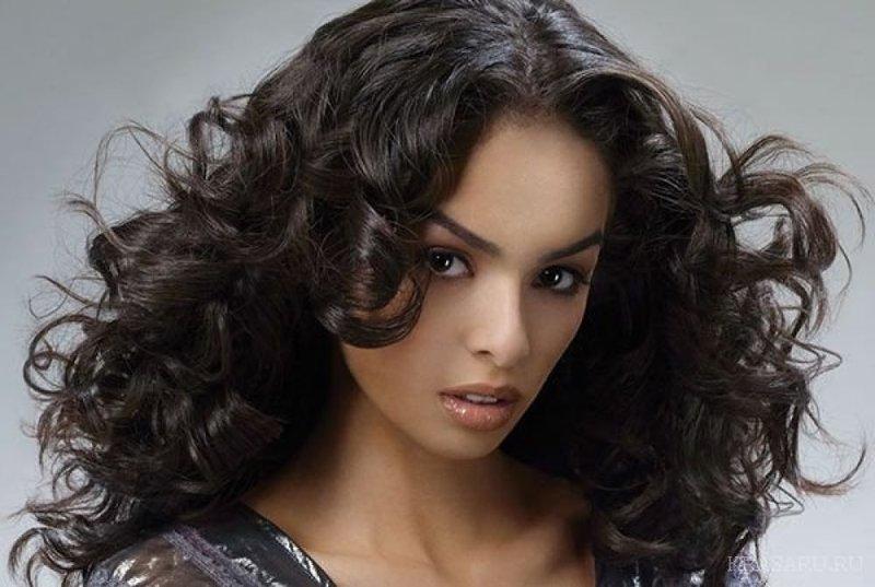 Вертикальный способ завивки для длинных волос