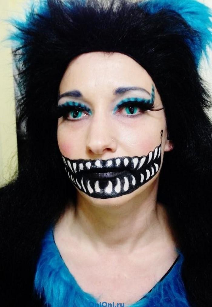 340Фото макияж на хэллоуин в домашних условиях
