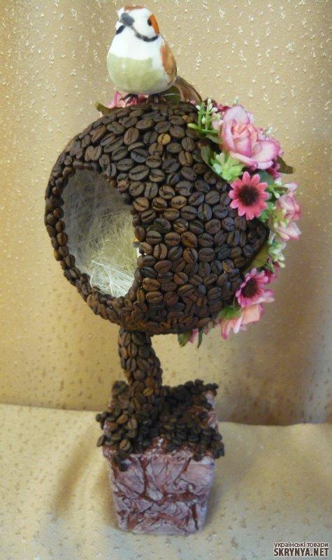 Рисунки из кофейных зерен своими руками фото 385