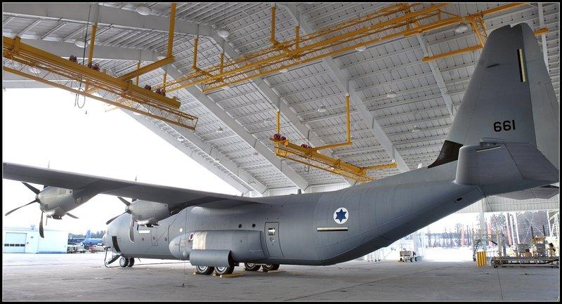 израильский C-130J-30