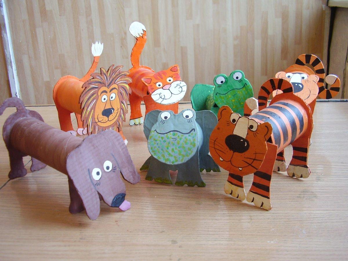 Поделки диких животных своими руками фото 713