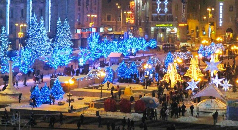 Киев великолепный город