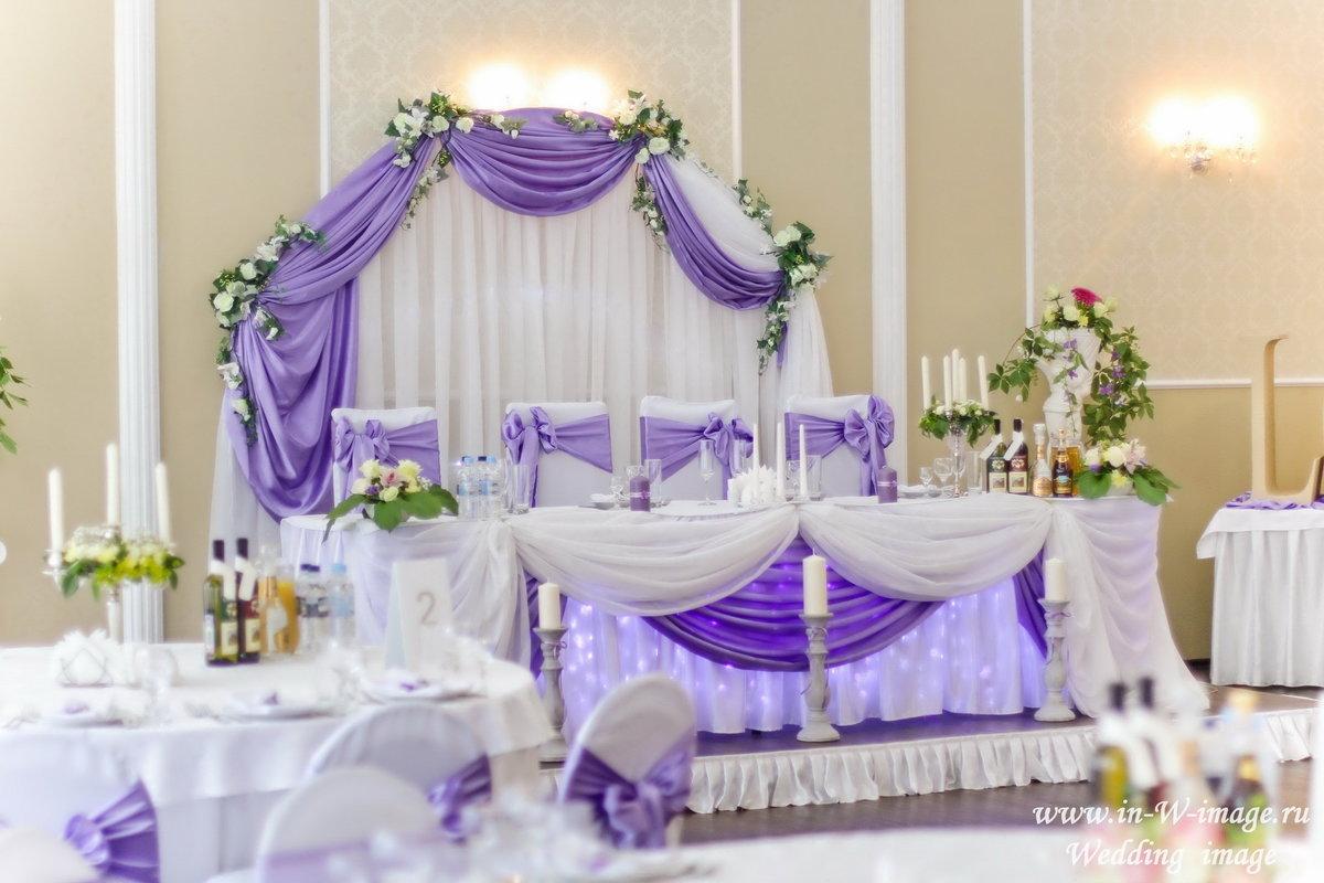 свадьба в фиолетовом цвете оформление фото