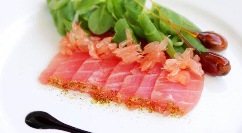 Карпаччо из тунца рецепт с фото