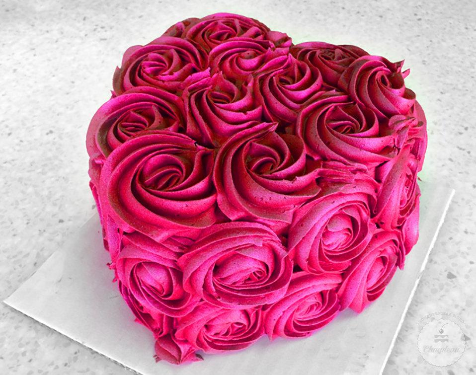 Торт на день святого валентина фото рецепт