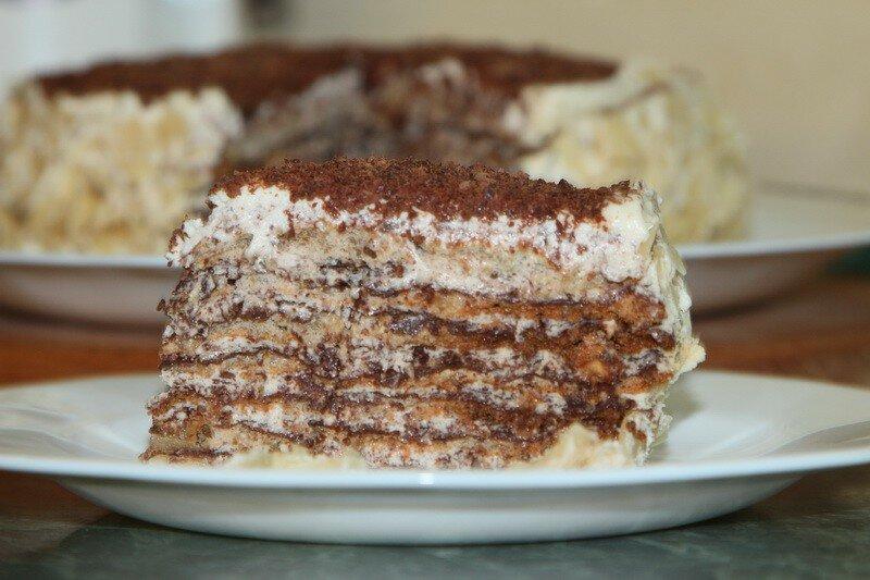 Итальянский торт фото рецепт