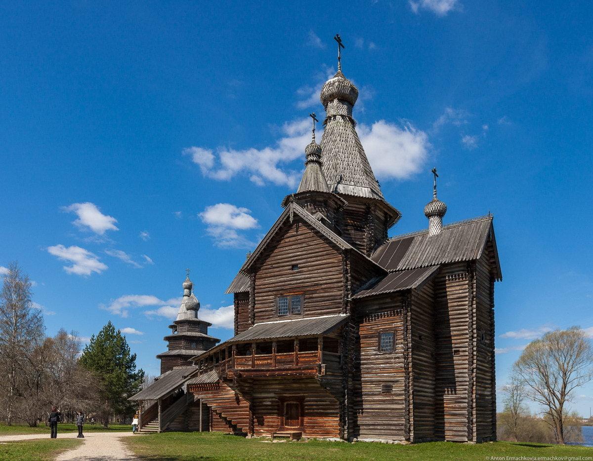 деревянные церкви руси фото
