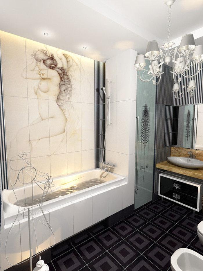 Интерьеры ванных комнат в стиле Ампир