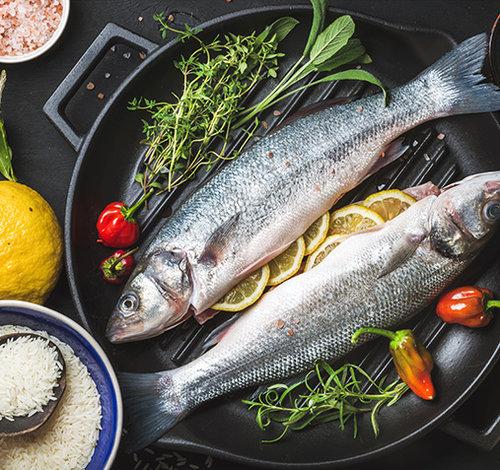 Рецепты с рыбой