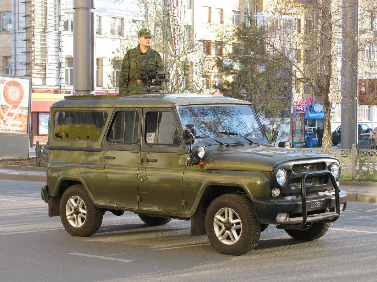 Фото армейского уаз