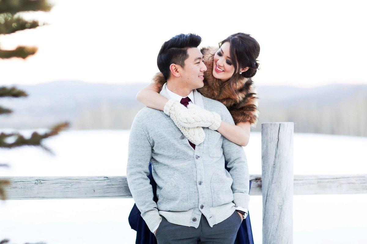 снег и свадьба в Костроме