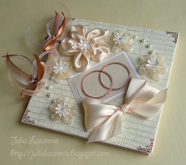души открытка из ткани на свадьбу своими руками простился родителем тайно