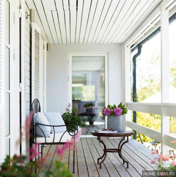 """Дизайн балкона: идеи, рекомендации, описания стилей"""" - карто."""