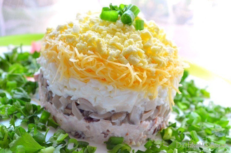 Пошаговый рецепт салата застольный