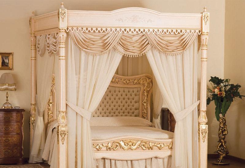 Королевский стиль вашей спальни