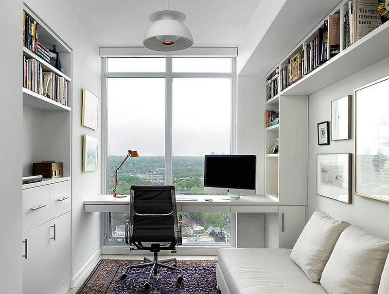 дизайн домашнего кабинета в современном фото