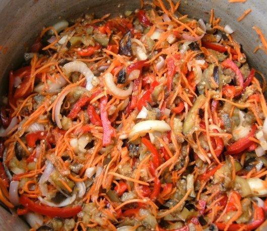 Баклажаны салат на зиму рецепты с фото