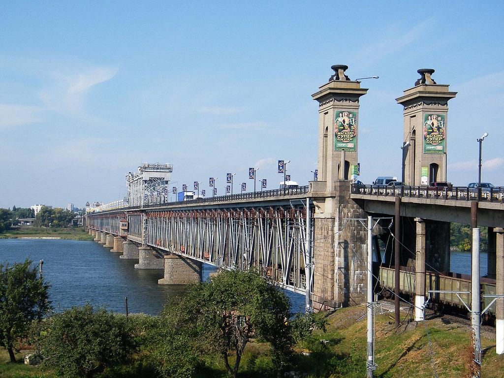 крюковский мост фото теле