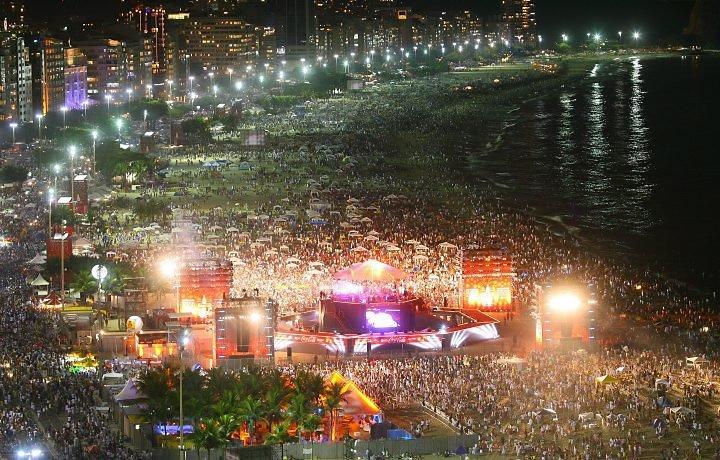 Экзотический Новый год в Рио де Жанейро Пляж Копакабана Новый год в Рио ...