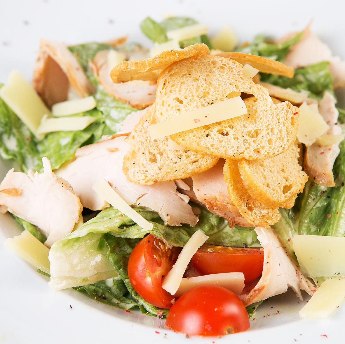 Рецепт картинки салат цезарь с курицей