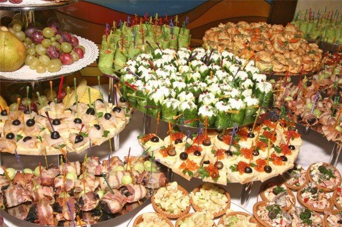 Красивые закуски на праздничный стол фото и рецепты