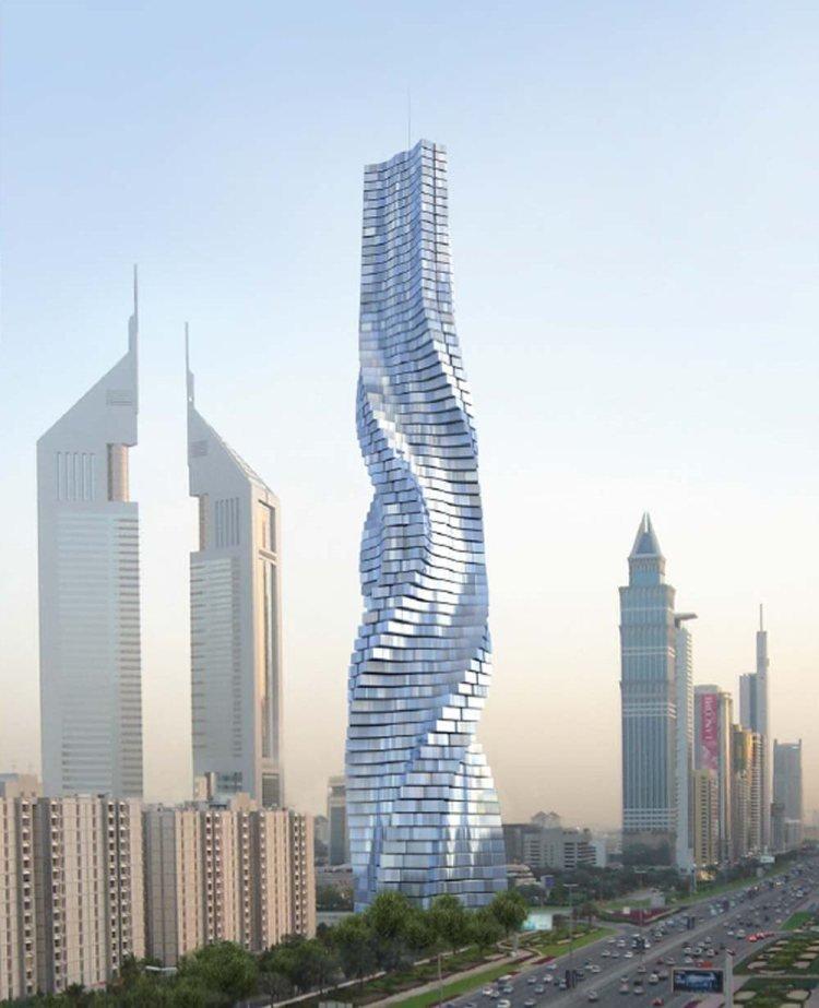Rotating Tower — архитектурный проект команды Dynamic Architecture, представлен в виде вращающейся башни (Дубаи, ОАЭ).