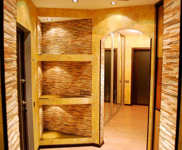 Как должен выглядеть дизайн в маленькой прихожей и коридоре. Советы дизайнеров по оформлению стен, пола и потолка. Выбор мебели и материалов для отделки.