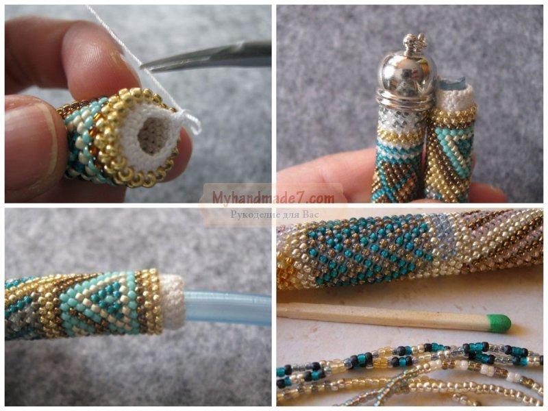 Бисерные браслеты своими руками фото 518