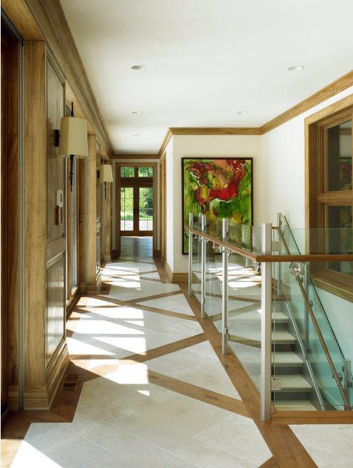 Кафельная плитка для маленькой прихожей и коридора