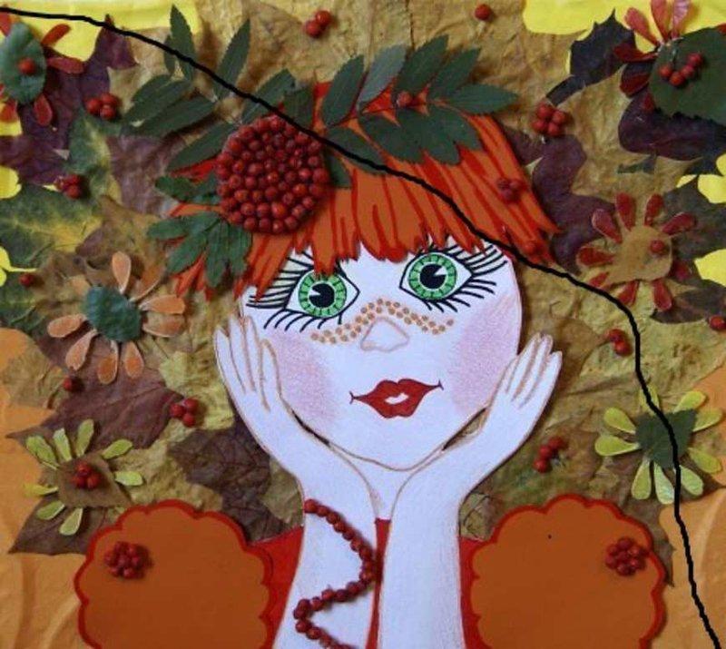 картинка красавица осень
