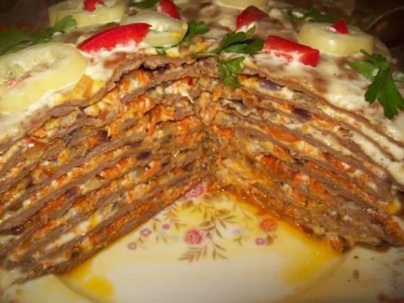 Рецепты торт п пошаговое с фото