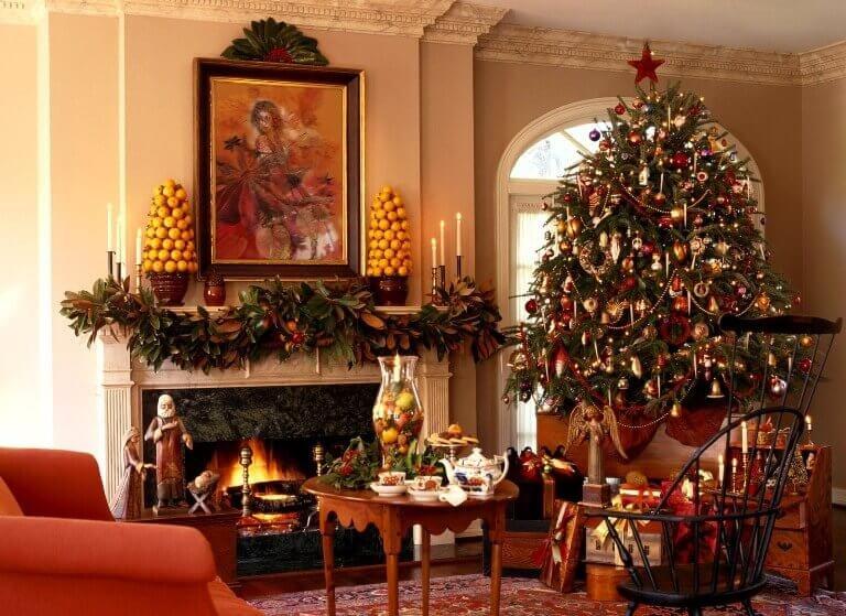 Новый год - самый долгожданный праздник для человека. Фото и идеи вдохновят вас по-особенному украсить дом, а новогодний интерьер подарит праздничное