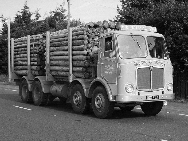 AEC Mammoth Major 8 MkV Timber Truck (G8RA)