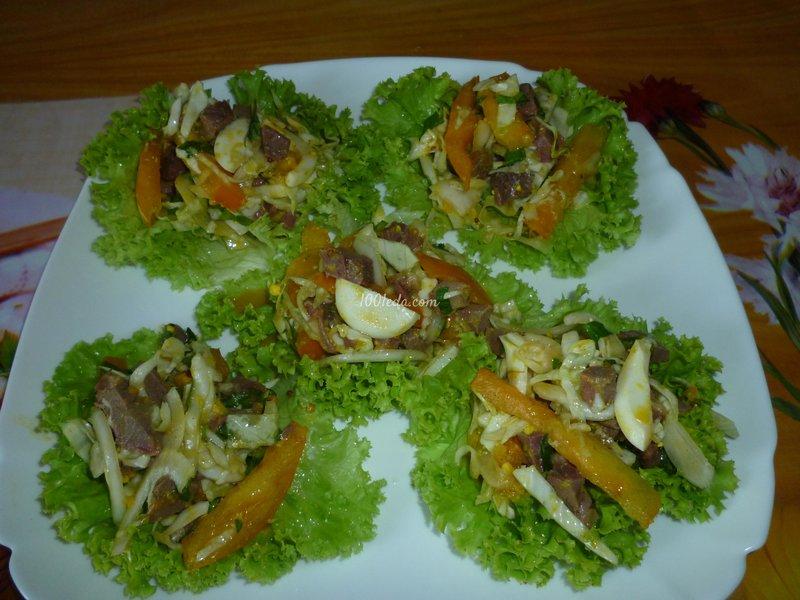 новые салаты к празднику с фото 2012