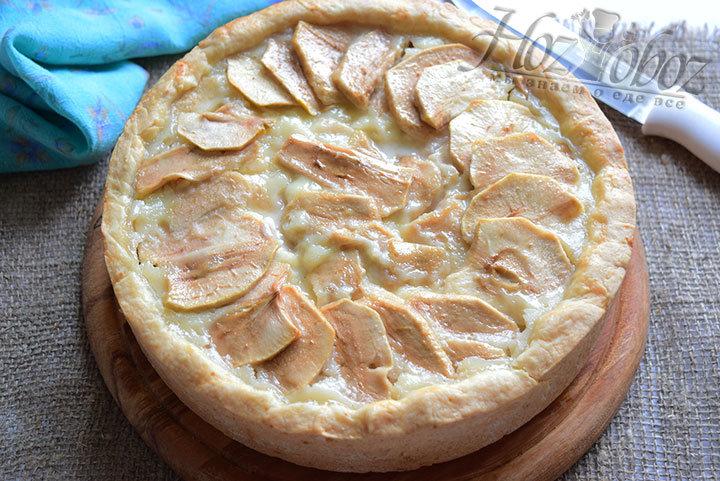 Цветаевский яблочный пирог пошаговый