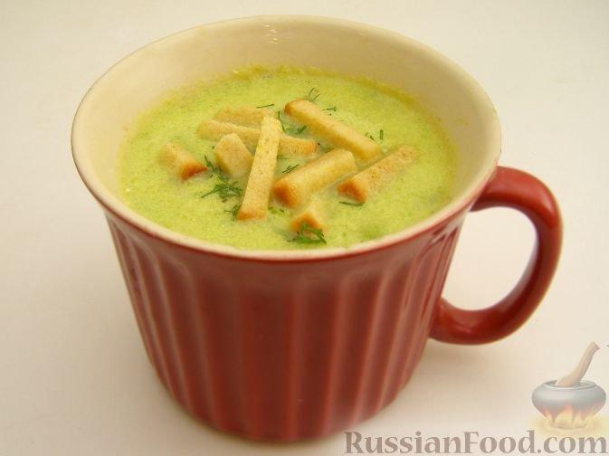 Пряный крем-суп из кабачков
