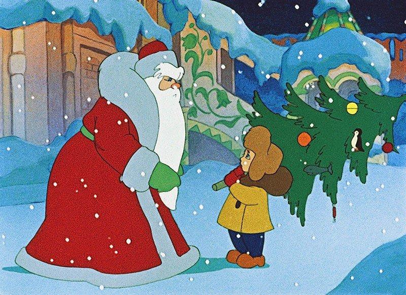 Картинки к новому году из мультфильмов
