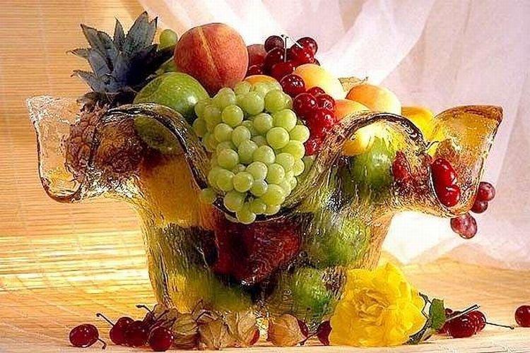 Вазы своими руками из фруктов и 63