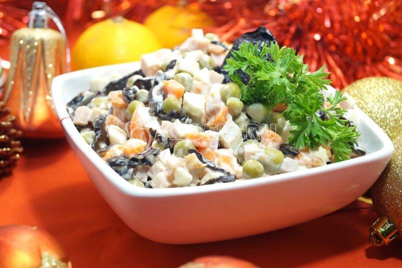 Приготовление салатов на новый год видео и с фото