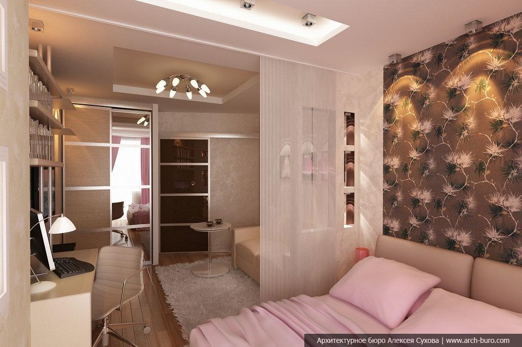 Увеличит пространство спальни, совмещенной с детской можно, .