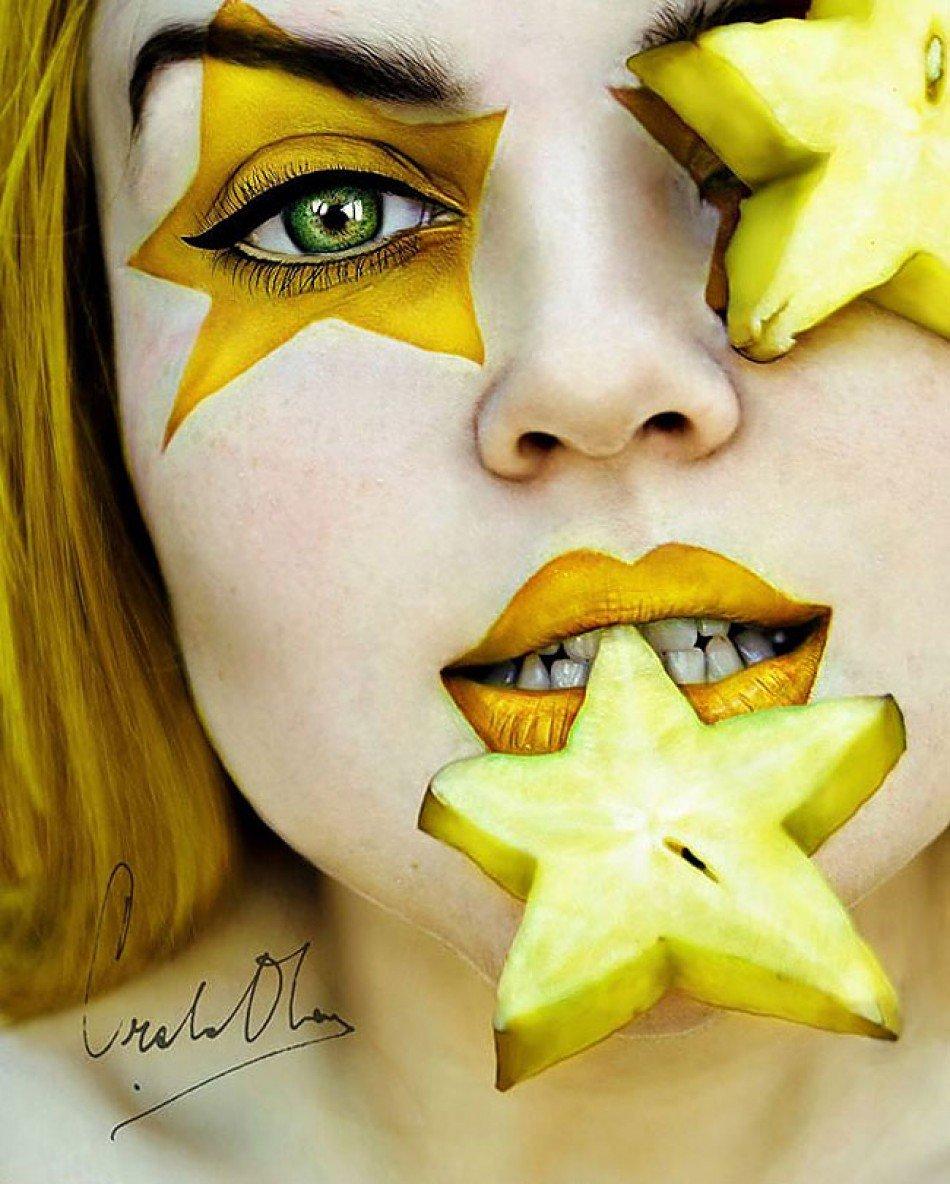 поездка картинки макияж с фруктами говорил уверенно, сочиняя