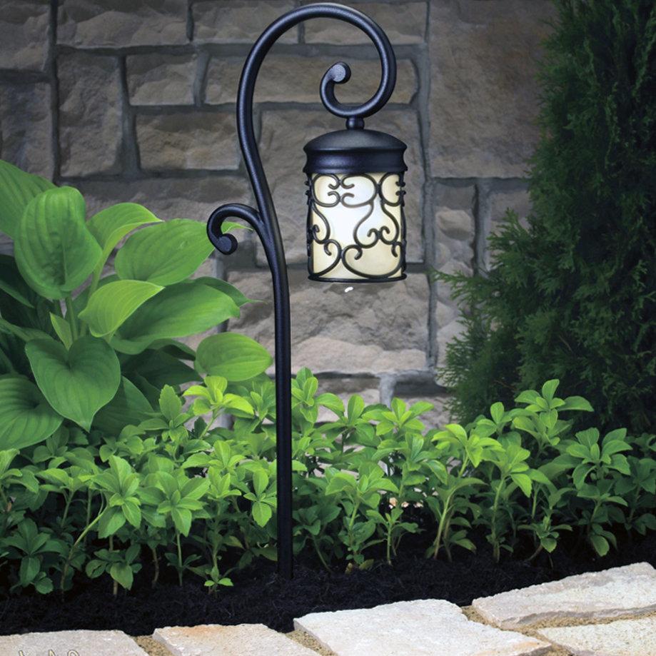 всего использовать кованые фонари для сада фото все знаем его