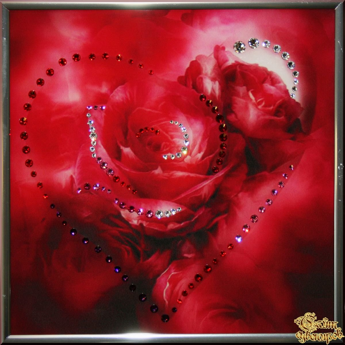 Цветы и любовь открытки, дизайн днем рождения