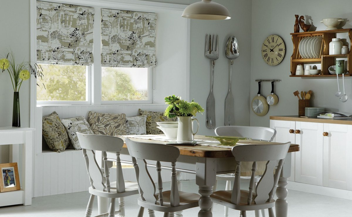 Днем, картинки со шторами на кухню