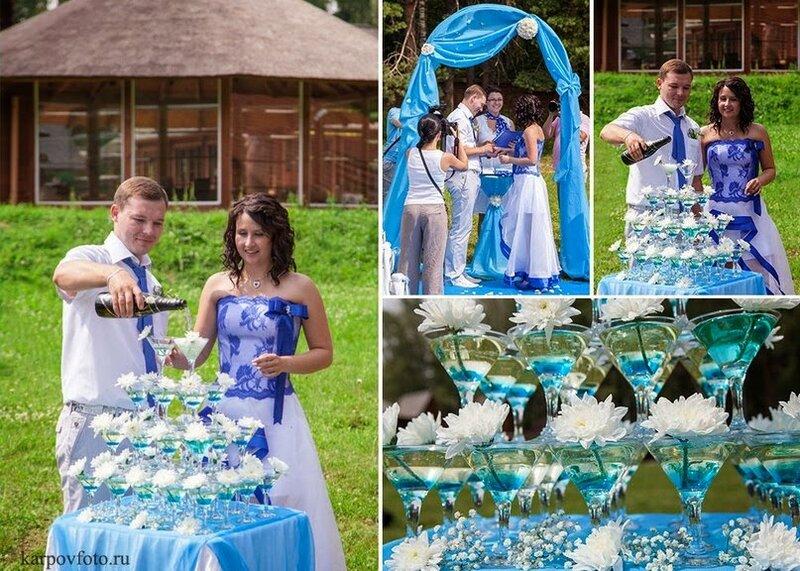 изысканая свадьба