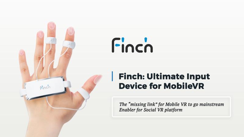 Finch VR - наручный контроллер виртуальной реальности