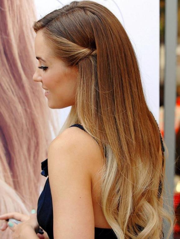 Осветлить пряди волос в домашних условиях