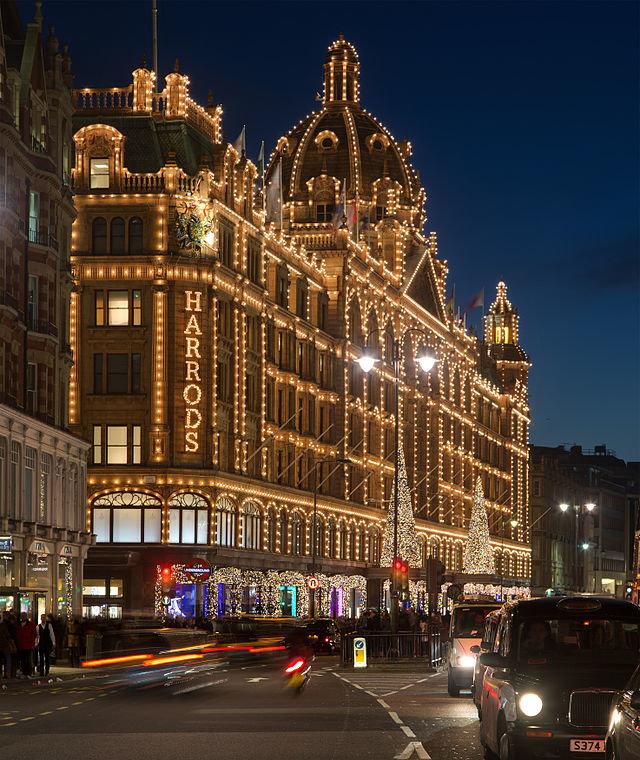 Новый год в Лондоне. Магазины Лондона.
