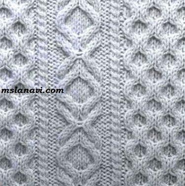 50 карточек в коллекции вяжем косы подборка узоров для вязания