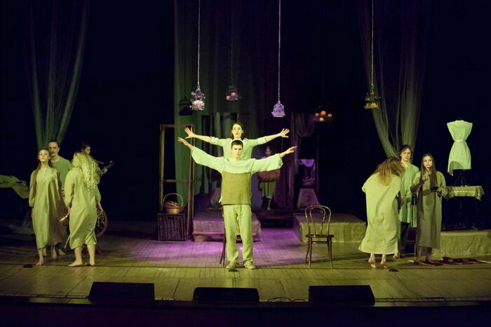 В красногорском ДК «Подмосковье» состоялся показ спектакля «Бесприданница»